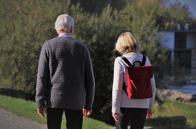 What do you talk about with aging parents?