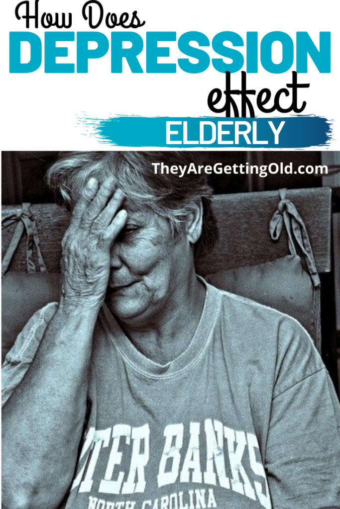 elderly and depression cover photo