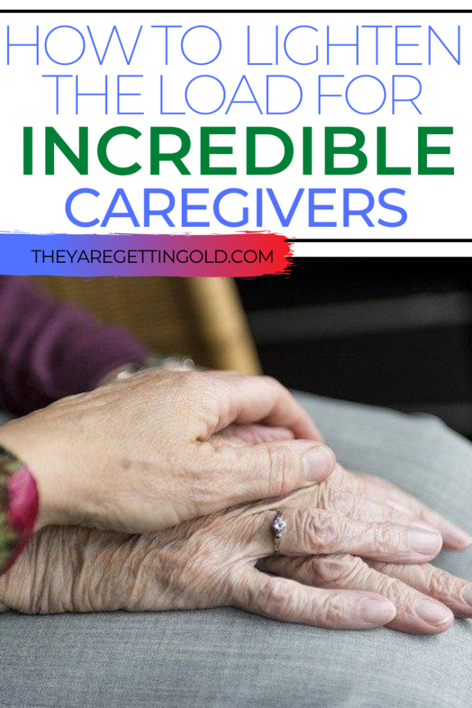 How do you encourage a caregiver?
