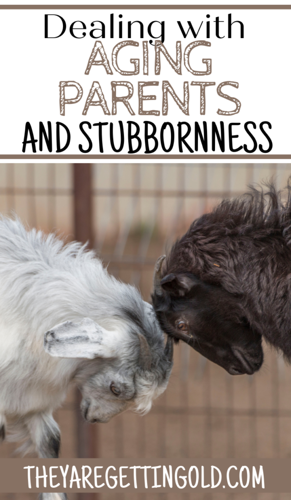 How to Handle Aging Parents and Stubbornness