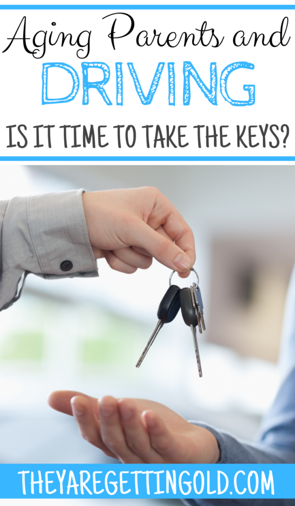 Aging Parents and Driving - is it time to take the car keys?